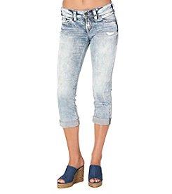 Silver Jeans Co. Suki Cuffed Capris