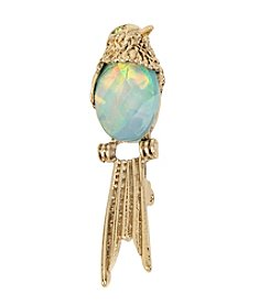 Betsey Johnson® Stone Bird Pin