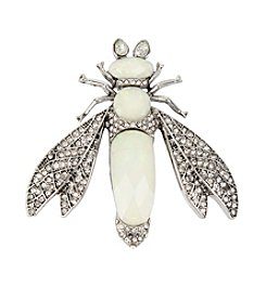 Betsey Johnson® Pave Fly Pin
