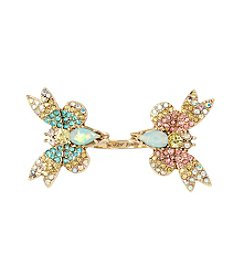 Betsey Johnson® Pave Butterfly Ring