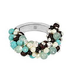 Robert Lee Morris Soho™ Mixed Semiprecious Beaded Stretch Bracelet
