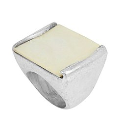 Robert Lee Morris Soho™ Geometric Shell Stone Ring
