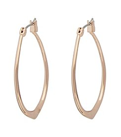 Vera Bradley® Small Triangle Hoop Earrings