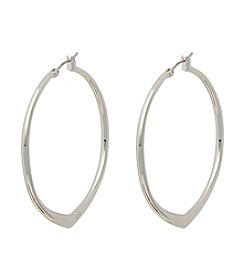Vera Bradley® Large Triangle Hoop Earrings