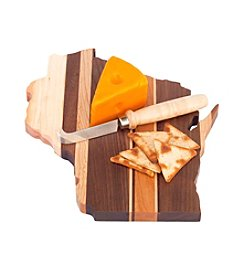 Wayne Waldron Wisconsin State Cutting Board