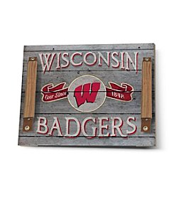 Kindred Hearts NCAA® Wisconsin Badgers Serving Tray
