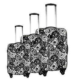Isaac Mizrahi® Boldon Hardside Black Luggage Collection