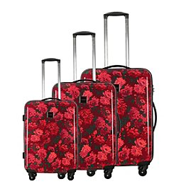 Isaac Mizrahi® Boldon Hardside Berry Luggage Collection