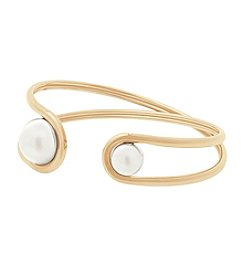 Michael Kors® Simulated Pearl Cuff Bracelet