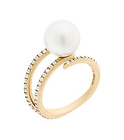Michael Kors® Simulated Pearl Statement Ring