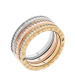 Michael Kors® Crystal Studded Stack Rings