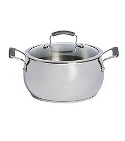 Epicurious 6-qt. Stainless Steel Covered Chili Pot