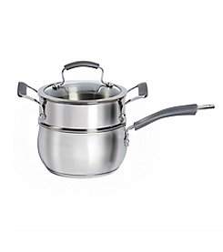 Epicurious 3-pc. 2.5-qt. Stainless Steel Double Boiler Set