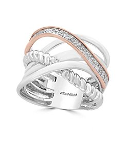 Effy® Multi Row Banded Diamond Ring