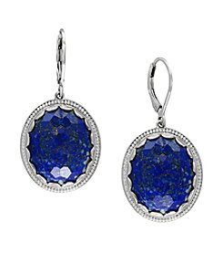 Effy® Sterling Silver Lapis Lazuli Earrings