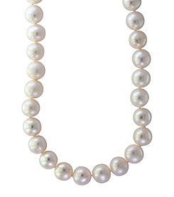 Effy® Sterling Silver Cultured Fresh Water Pearl Necklace