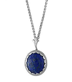 Effy® Sterling Silver Lapis Lazuli Pendant