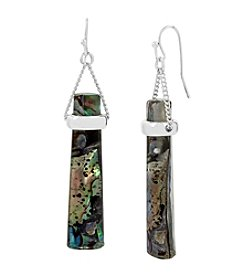 Kenneth Cole® Abalone Stick Drop Earrings