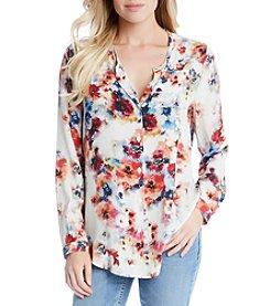 Karen Kane® Shirttail Blouse