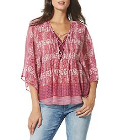 Vintage America Blues™ Flowy Peasant Top