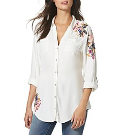 Vintage America Blues™ Embroidered Tunic Top