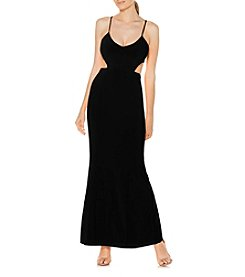 Laundry by Shelli Segal® Cut-Out Long Gown