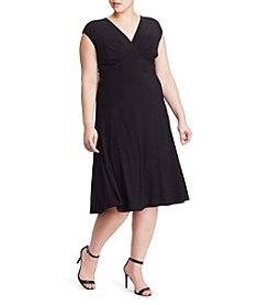 Chaps® Plus Size Iona V-Neck Dress