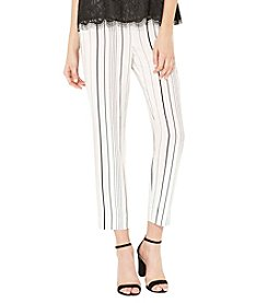 Vince Camuto® Pencil Striped Slim Pants