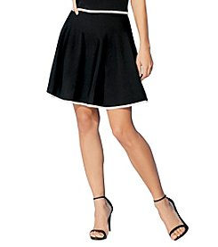 Ivanka Trump® Contrast Trim Skirt