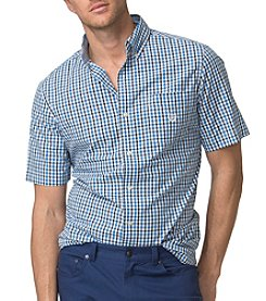 Chaps® Men's Big & Tall Easy Care Short Sleeve Woven Shirt