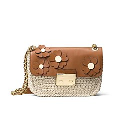 MICHAEL Michael Kors® Flora Applique Sloan Large Chain Shoulder Bag