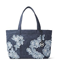 MICHAEL Michael Kors Denim Extra Large Tote
