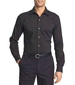 Van Heusen® Men's Big & Tall Long Sleeve Stretch Dot Button Down