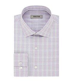 REACTION Kenneth Cole Men's Plaid Spread Dress Shirt