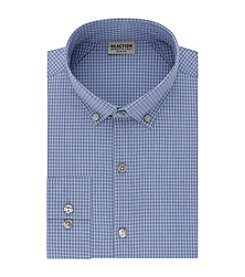 Kenneth Cole REACTION Technicole® Men's Stretch Collar with Tek Fit Dress Slim Fit Shirt