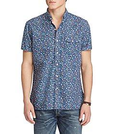 Polo Ralph Lauren® Men's Short Sleeve Oxford Shirt