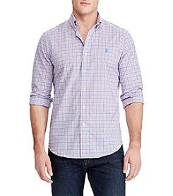 Polo Ralph Lauren® Stretch Poplin Button Down Shirt