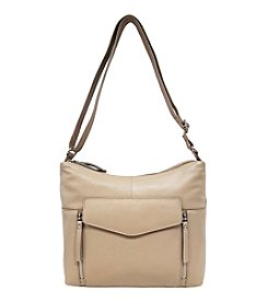GAL Leather Siena Organizer Hobo Crossbody