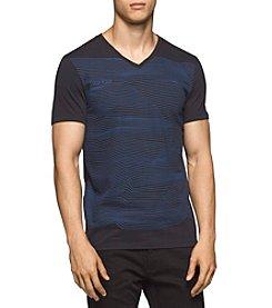 Calvin Klein Men's Wave Length V-Neck G Tee