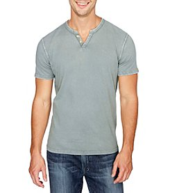 Lucky Brand® Men's Button Notch Tee