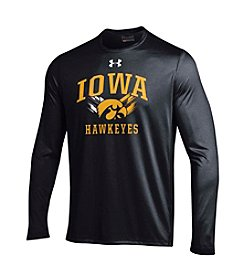 Under Armour® NCAA® Men's Iowa Hawkeyes Long Sleeve Tech Tee