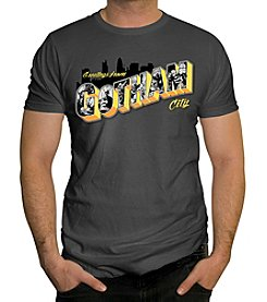 Changes Men's Batman Greetings From Gotham City Graphic Tee