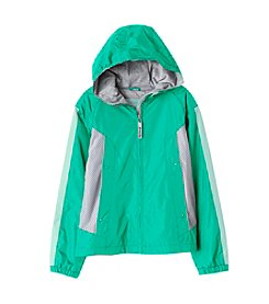 London Fog® Girls' 7-16 Spring Hooded Jacket