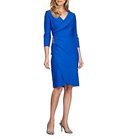 Alex Evenings® Short Surplice Dress