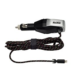 RoadKing Heavy-Duty Device Charger with 9' Cable & Lightning Connector