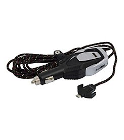 RoadKing Heavy-Duty Device Charger with 12' Cable & Micro USB Connector