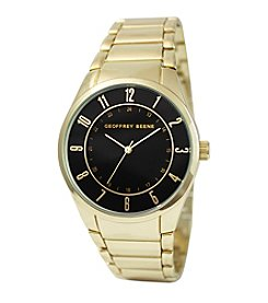 Geoffrey Beene Slim Goldtone Watch