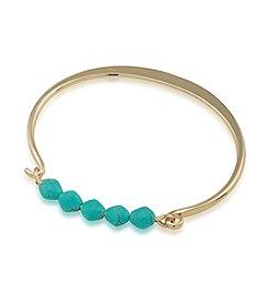 Lauren Ralph Lauren Turquoise and Caicos Cuff Bracelet
