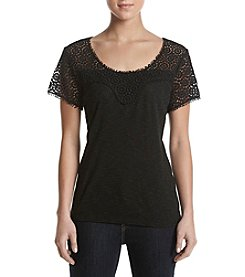 Adiva Crochet Lace Top