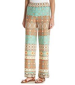 Cupio Printed Pull On Pants